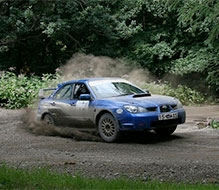 Forest Rally Driving