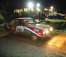 Night Rally Driving