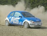Junior rally driving days in North Yorkshire