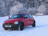 Ice driving with Silverstone Rally School in Norhtamptonshire