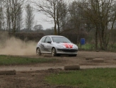 Forest rally driving with London Rally School in Oxfordshire