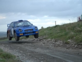 Rally driving in Northern Ireland