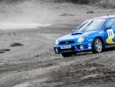 Subaru rally driving in Wiltshire