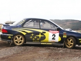Corporate rally driving days in Dunfermline with Knockhill Racing Circuit