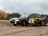 Rally driving birthday party in Fife with Knockhill Racing Circuit