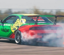 Learn2Drift at Donington Park Race Circuit